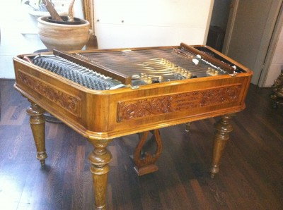 I bought this superb Bohak cimbalom in Amsterdam in 2012